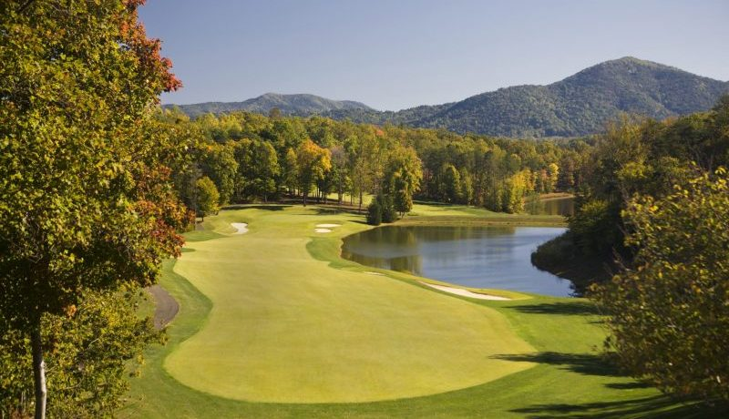 Tuckahoe Course included with Wintergreen Resort Golf Packages