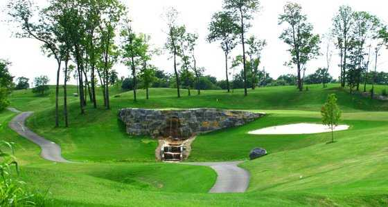 Rock Harbor Golf Club  tee box in Winchester Virginia