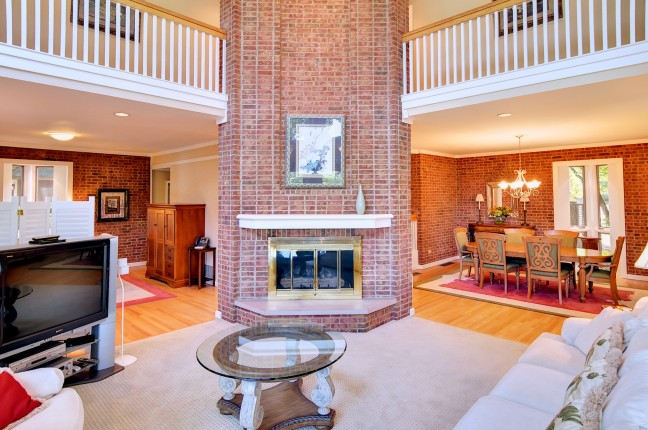 Living room at Kingsmill Vacation home