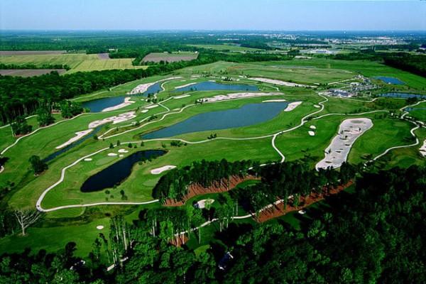 Virginia Beach National Golf Club Aereial View