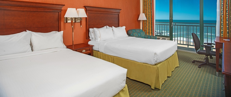 Virginia Beach Golf Vacation Hotel Holiday Inn Express Oceanfront