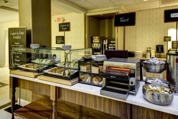 Embassy Suites Breakfast