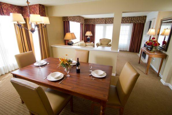 Dining room at greensprings
