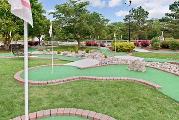 Miniature Golf Course at Powhatan Resort