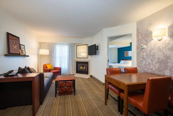 Living room at Residence inn Williamsburg