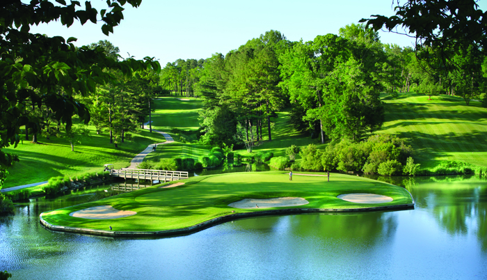 Gold Course at the Golden Horseshoe