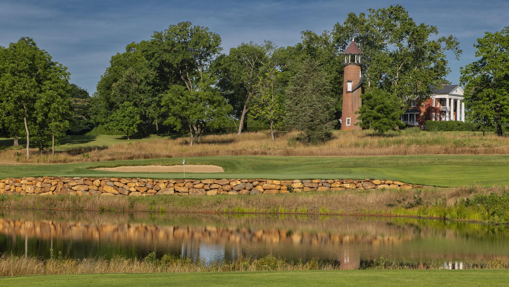 Boars Resort Golf Club 17th hole