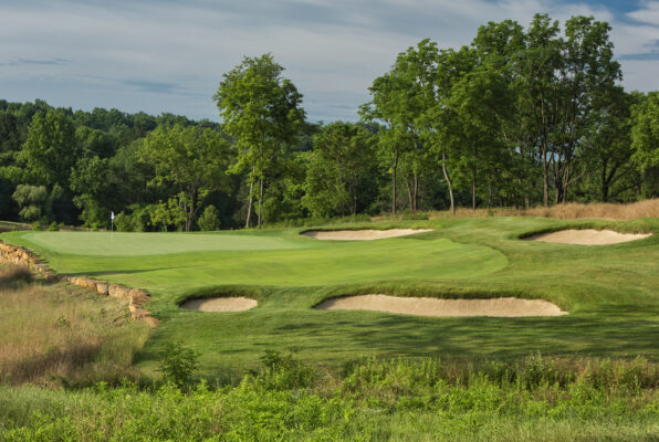 Boars Head Resort Golf Club 17th hole